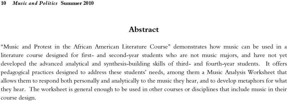 analysis of american protest literature Also explains the historical and literary context that influenced the american  no fear literature  becoming a british subject in 1915 in part to protest .