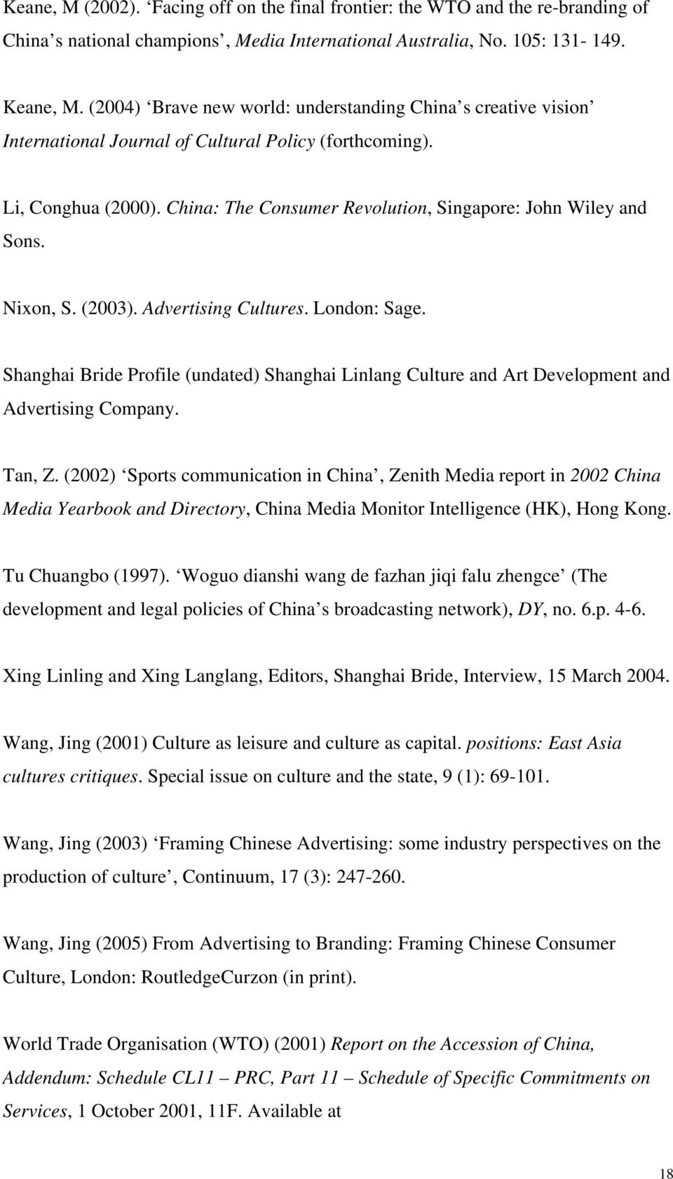 Literature review on trade liberalisation and china's employment?