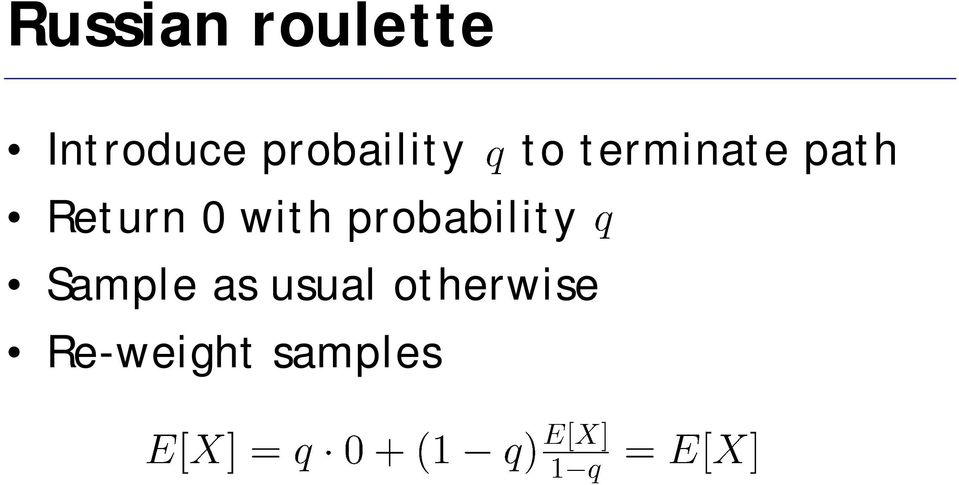 Return 0 with probability