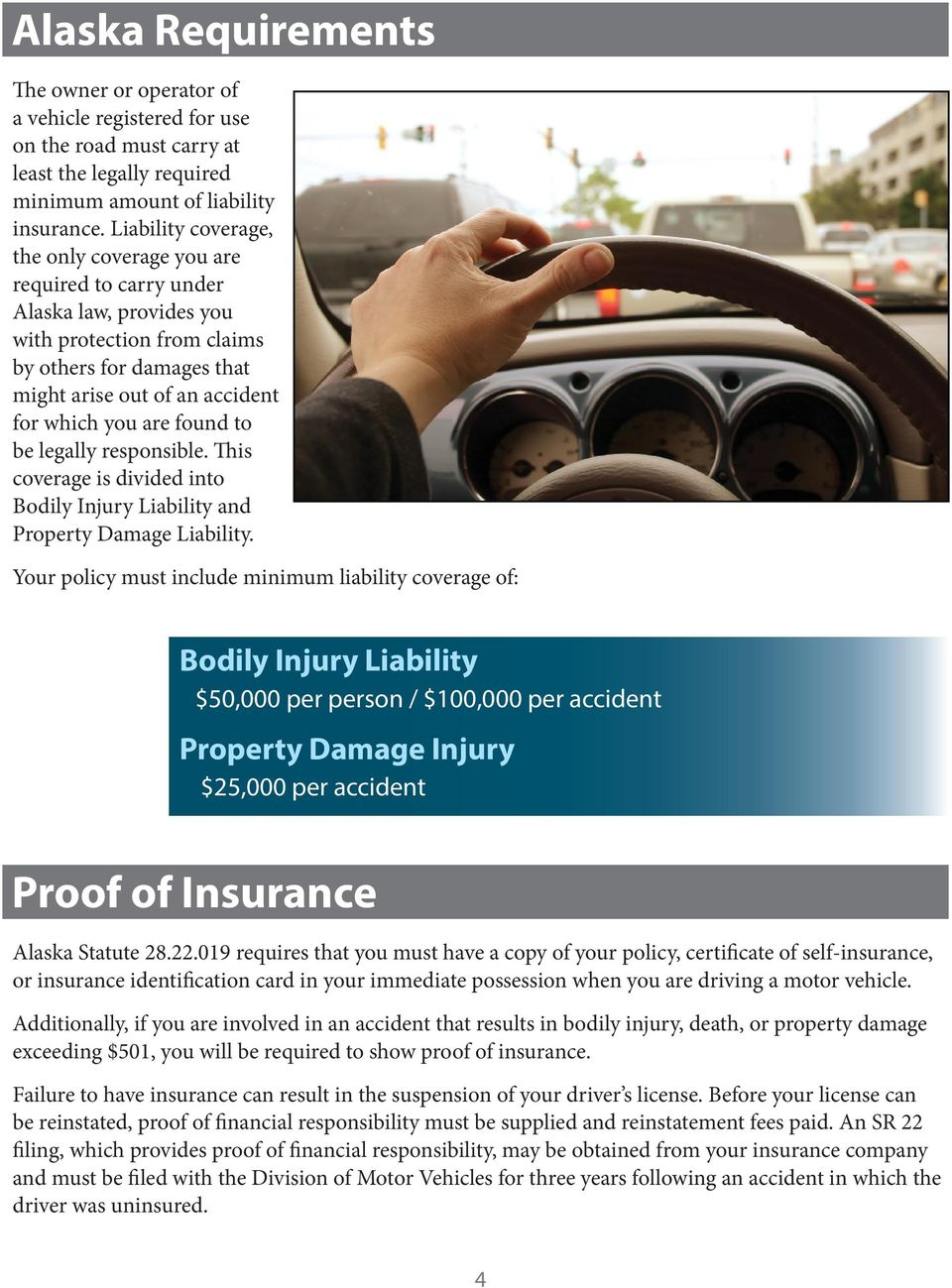 found to be legally responsible. This coverage is divided into Bodily Injury Liability and Property Damage Liability.