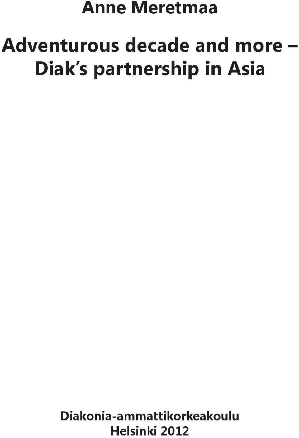 partnership in Asia