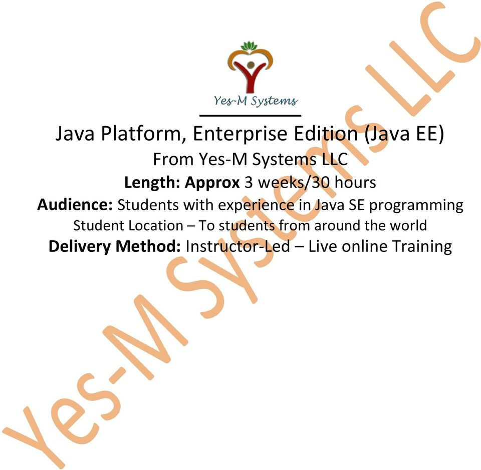 in Java SE programming Student Location To students from
