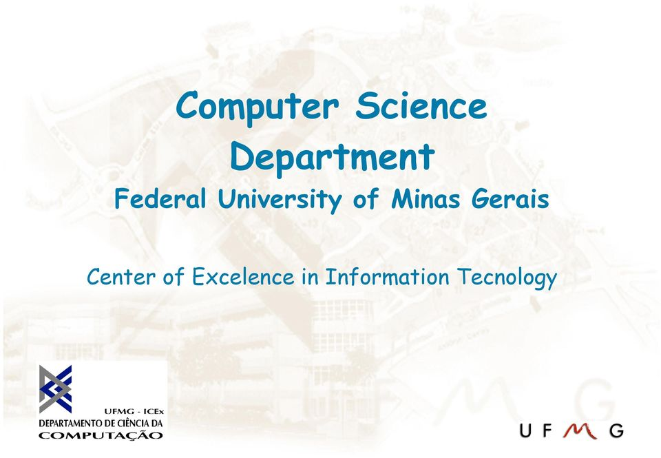 University of Minas Gerais