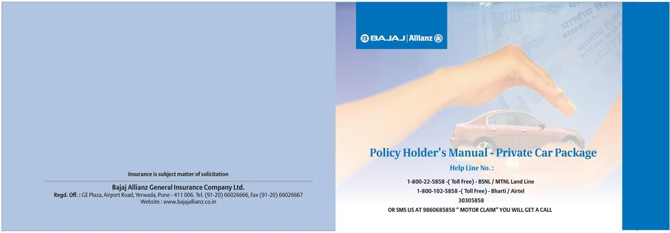 Policy Holder S Manual Private Car Package Pdf