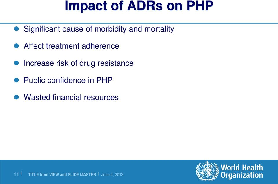 adherence Increase risk of drug resistance