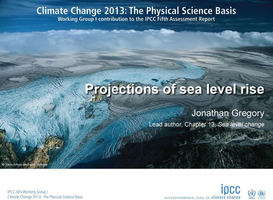 Chapter 13, Sea level change