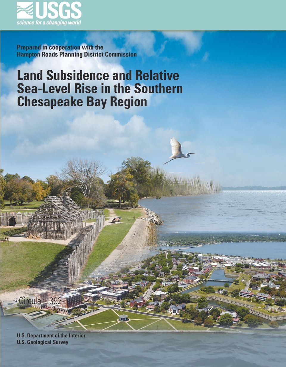 Sea-Level Rise in the Southern Chesapeake Bay Region