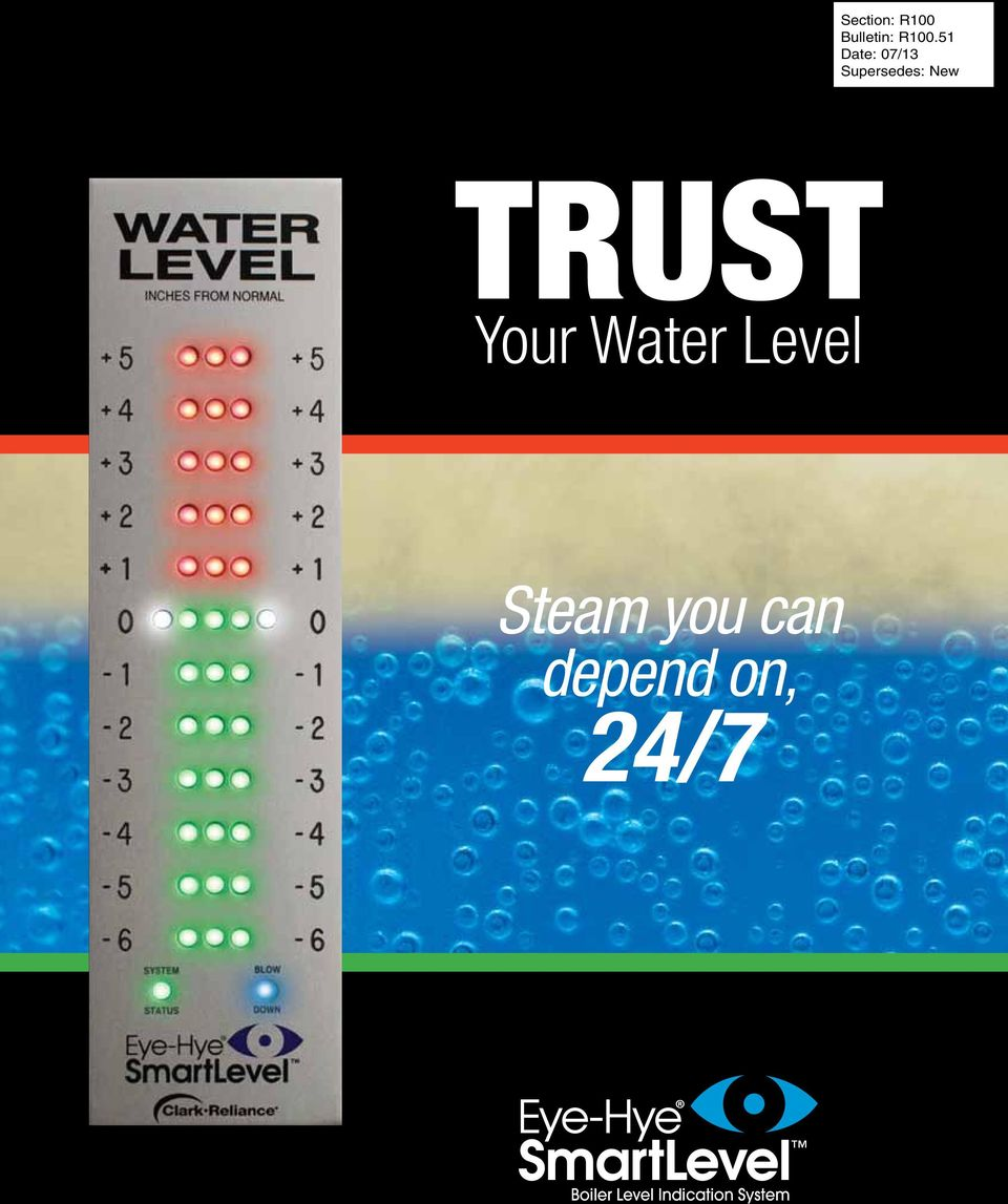 TRUST Your Water Level Steam you