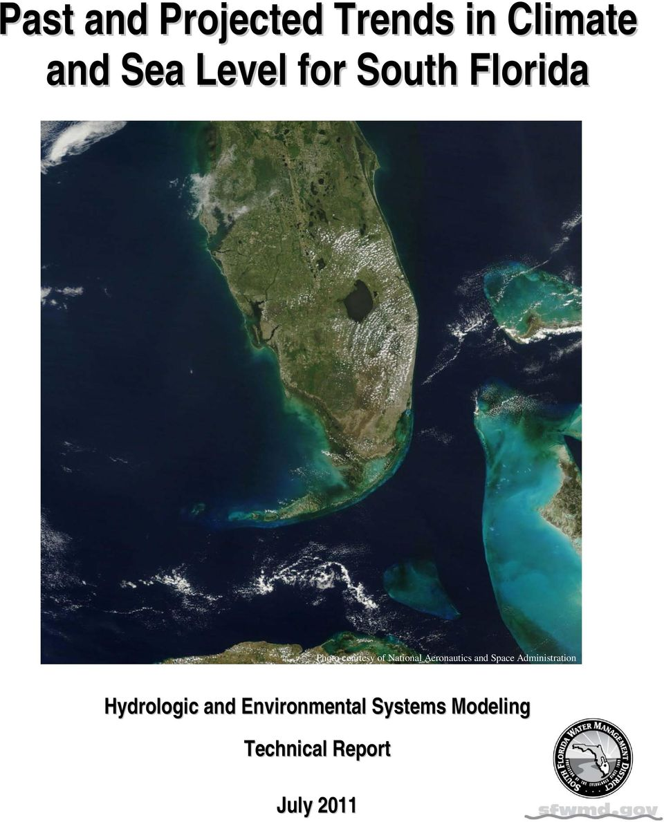 Aeronautics and Space Administration Hydrologic and