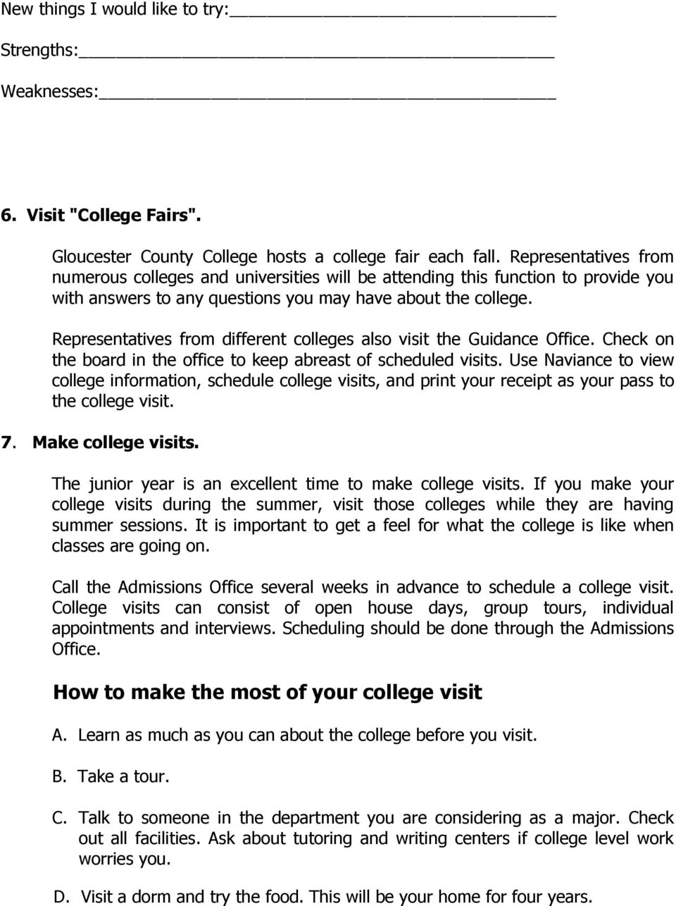 How To Calculate Gpa Representatives From Different Colleges Also Visit The  Guidance Office Check On The