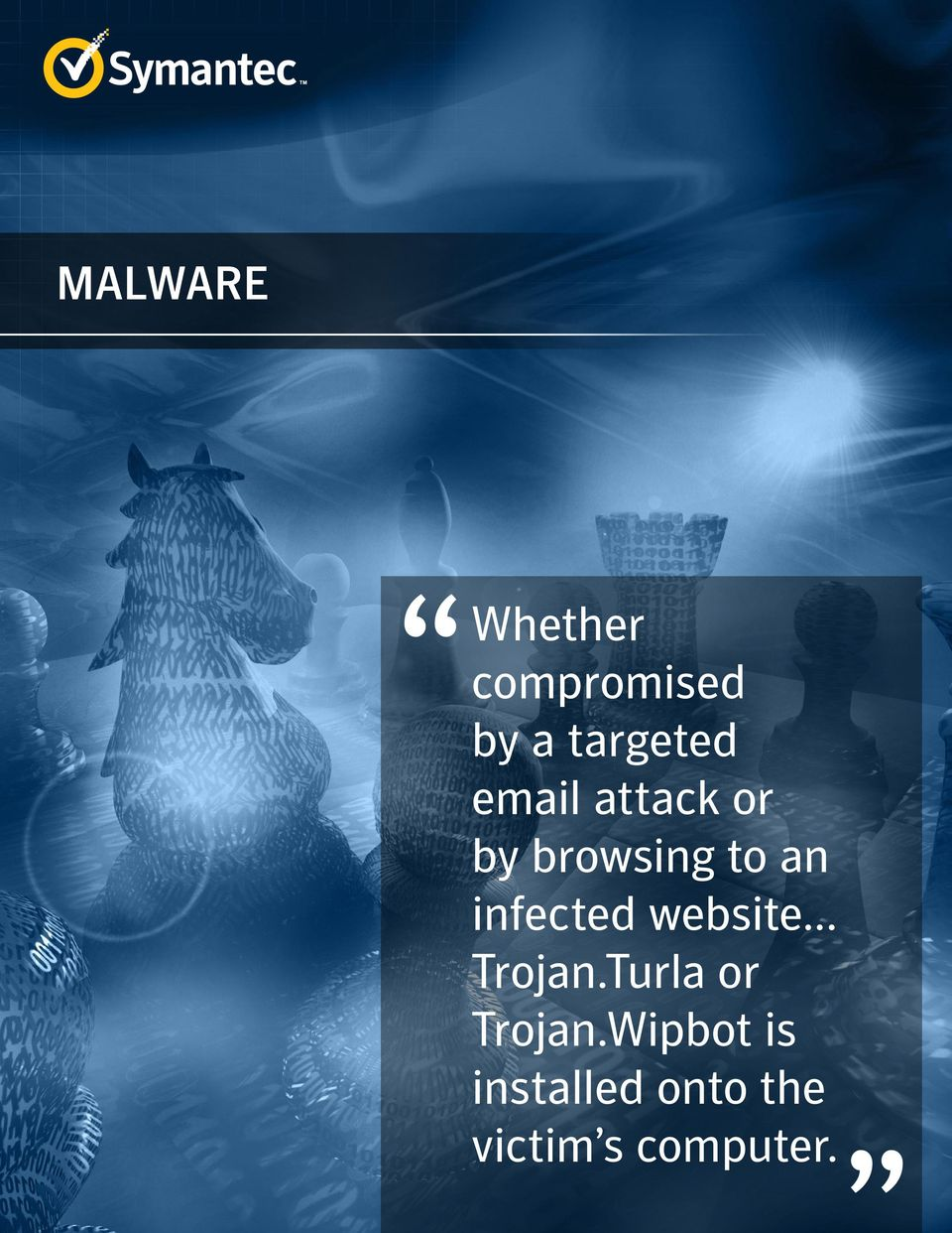 infected website... Trojan.