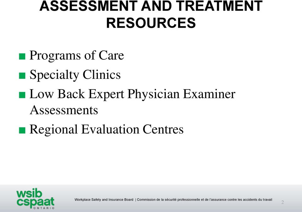 Low Back Expert Physician Examiner