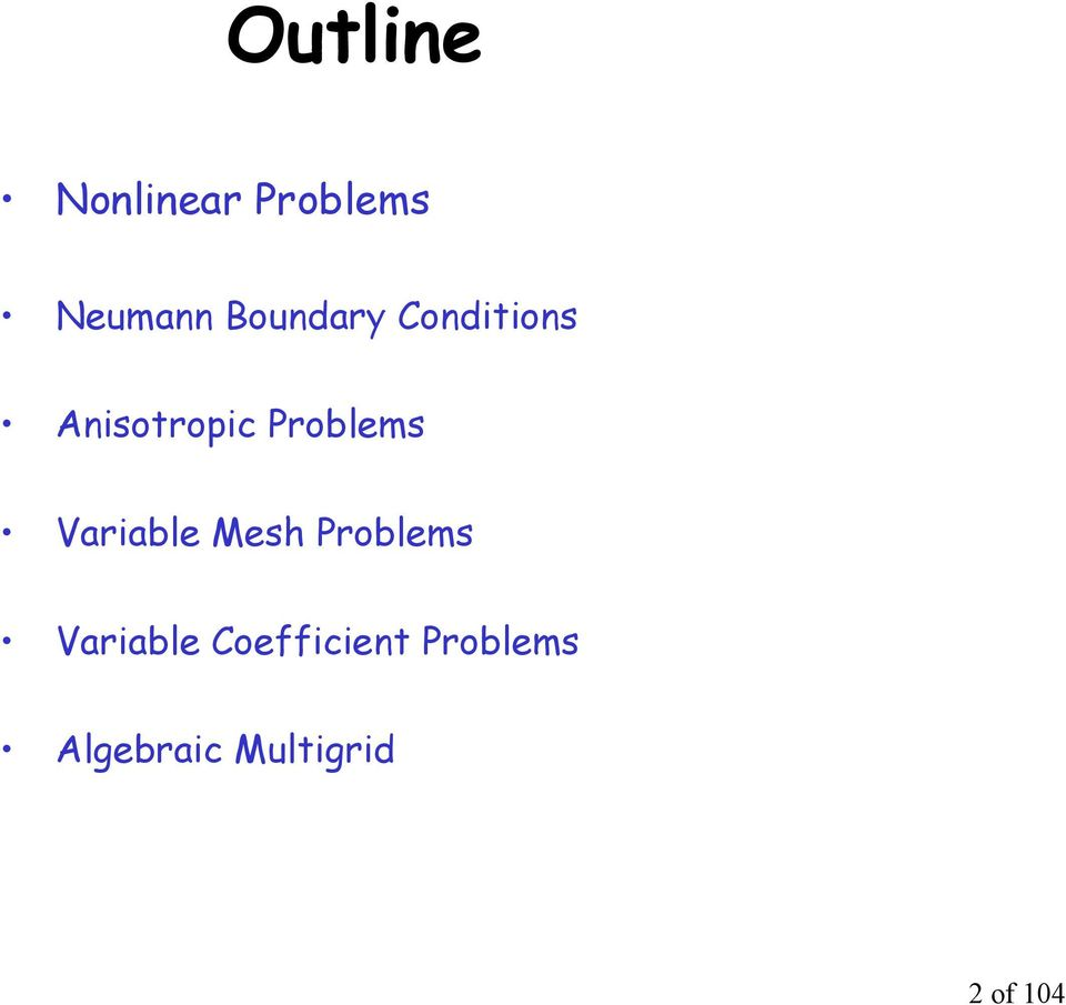 Problems Variable Mes Problems