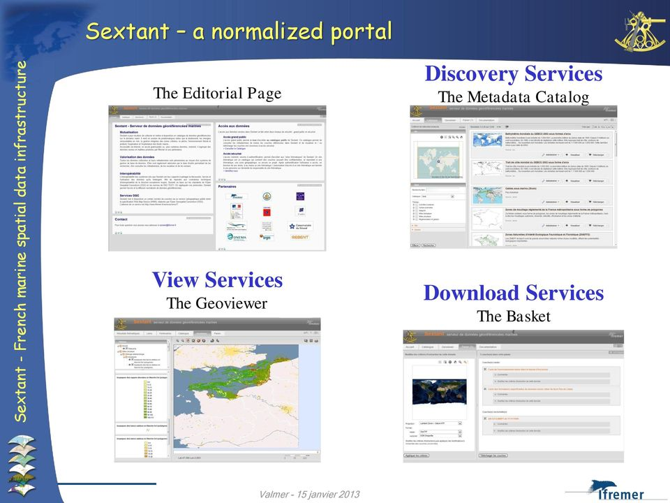 The Metadata Catalog View Services
