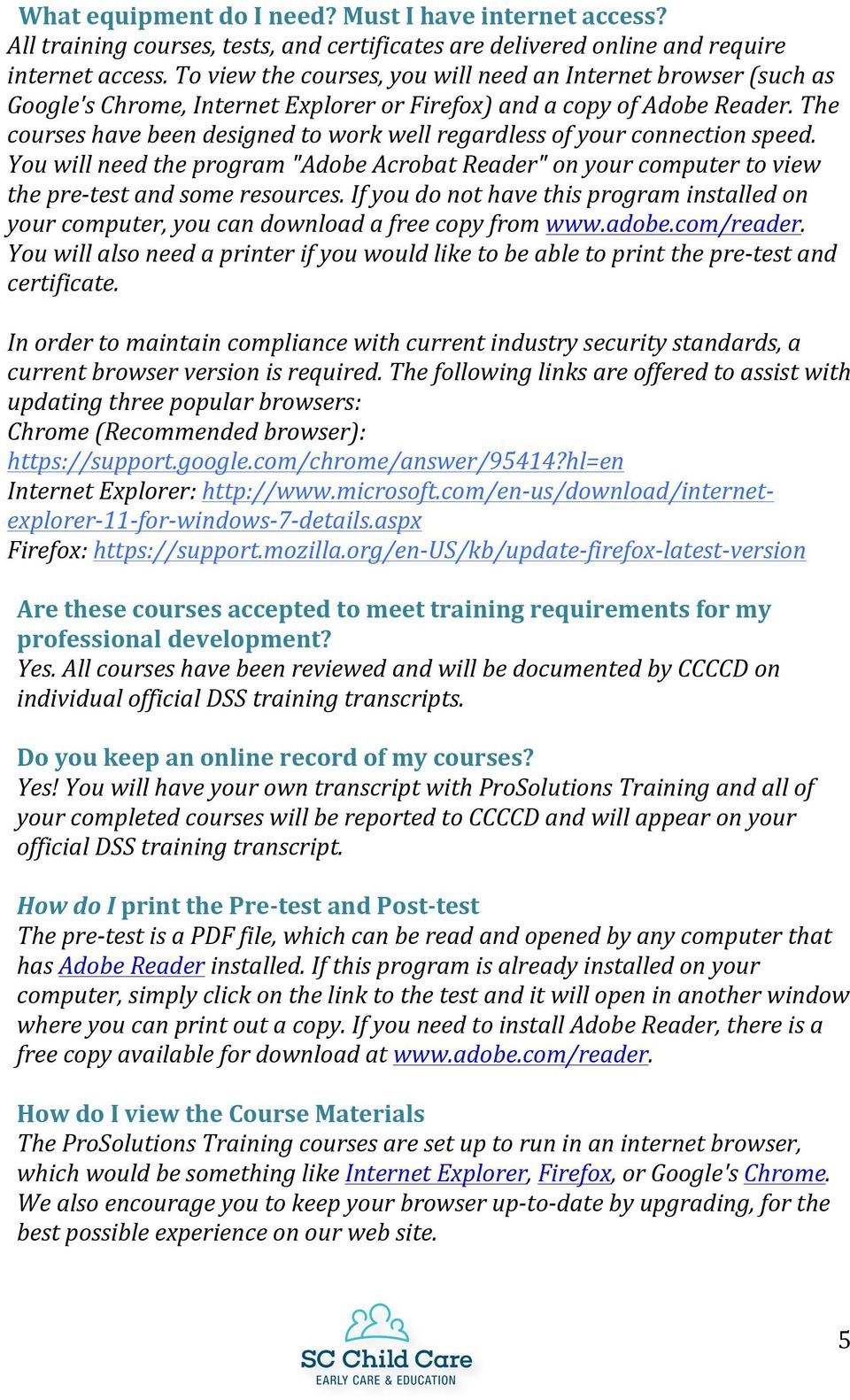 Frequently asked questions pdf the courses have been designed to work well regardless of your connection speed you will fandeluxe Choice Image
