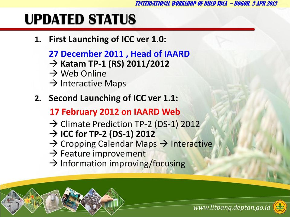 Maps 2. Second Launching of ICC ver 1.