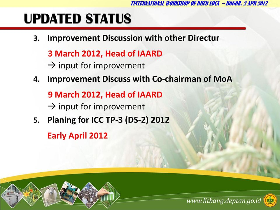 IAARD input for improvement 4.
