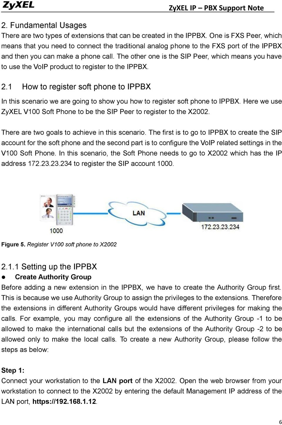 The other one is the SIP Peer, which means you have to use the VoIP product to register to the IPPBX. 2.