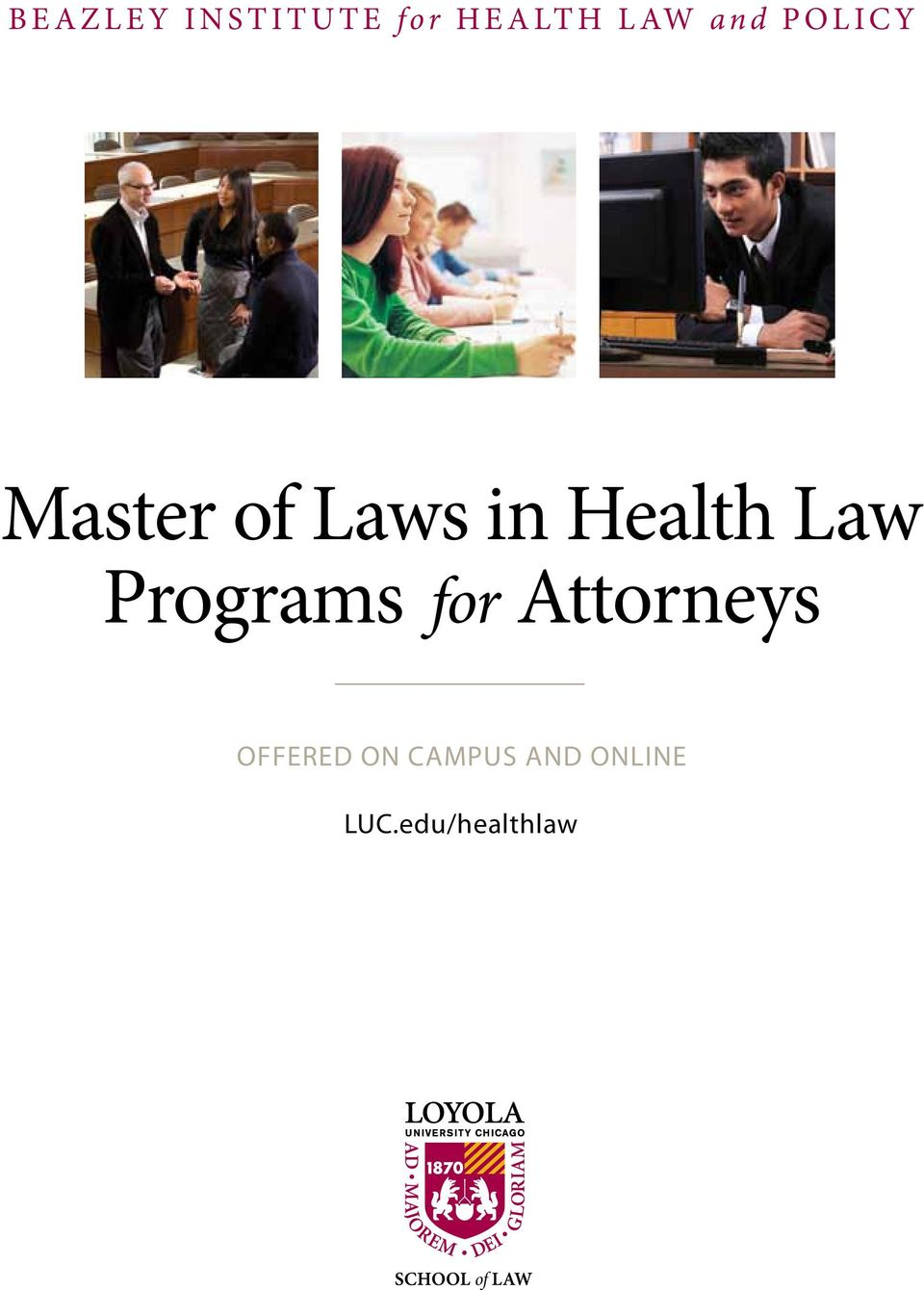 Master of Laws in Health Law Programs