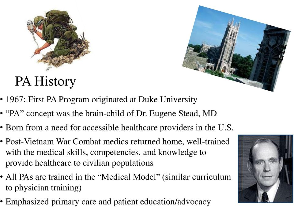 ead, MD Born from a need for accessible healthcare providers in the U.S.
