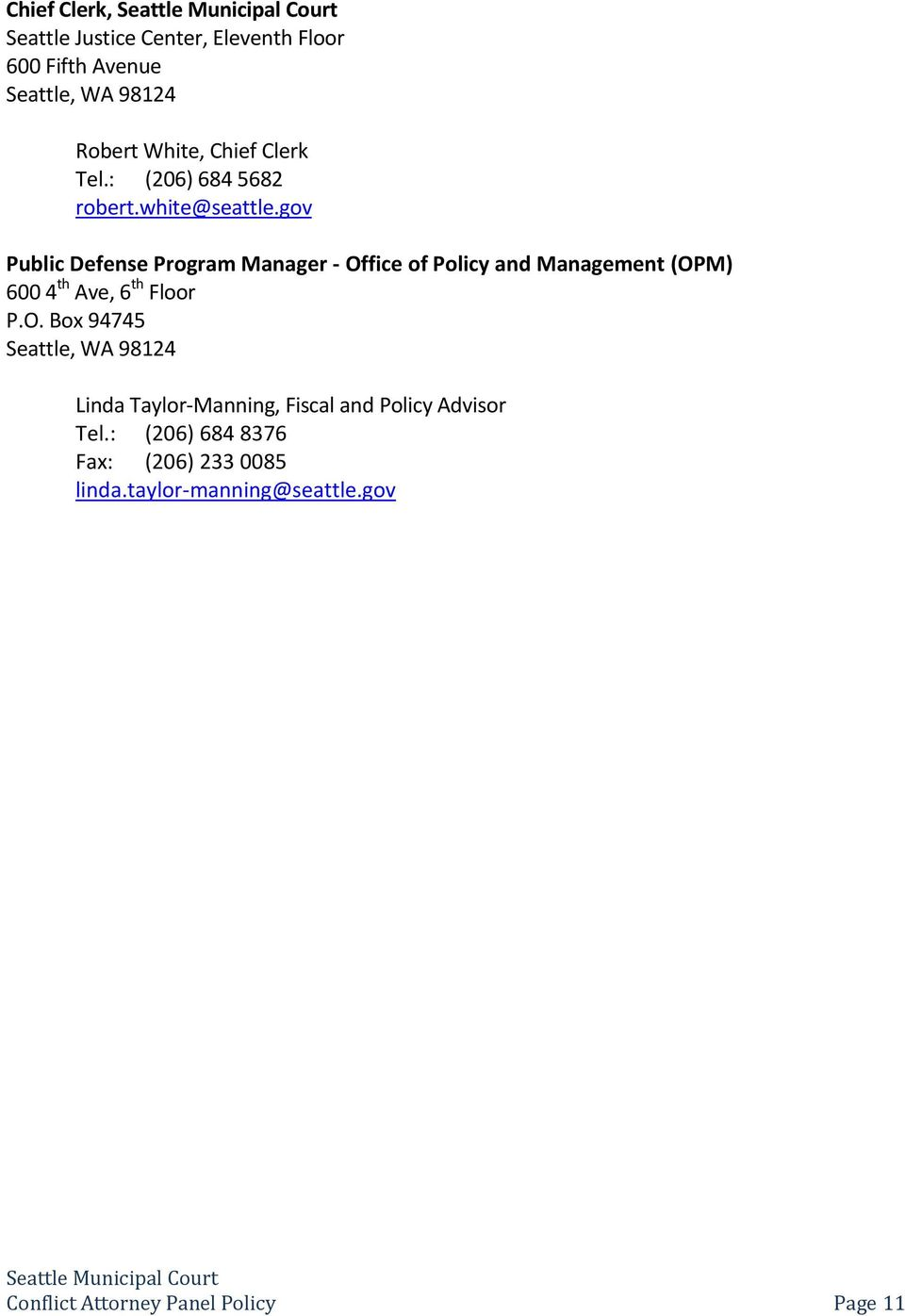 gov Public Defense Program Manager - Of