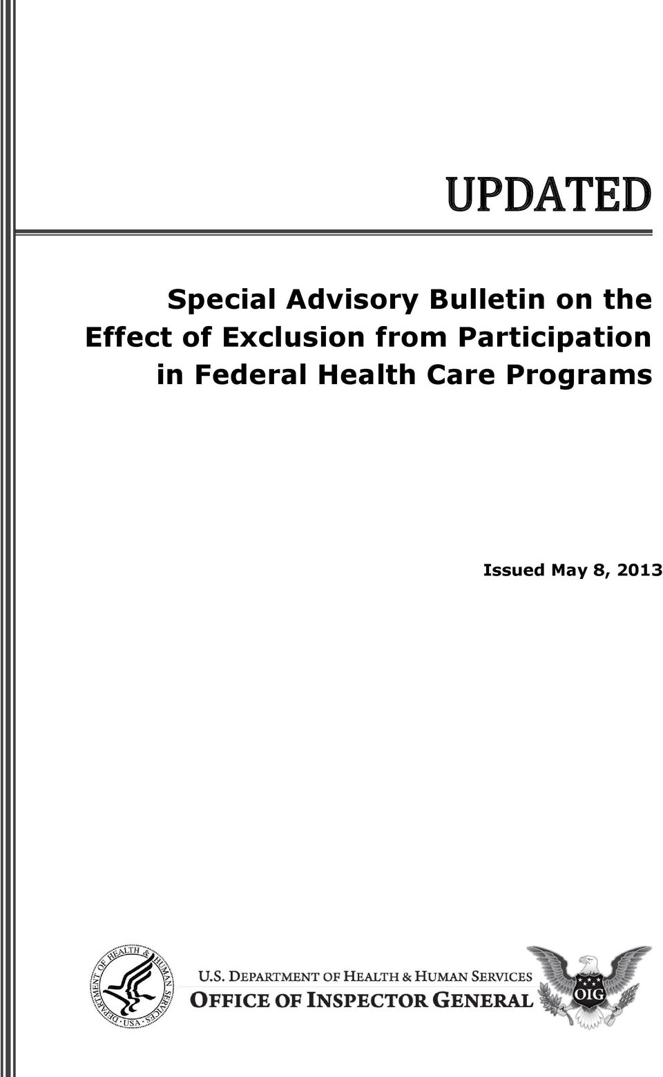 Exclusion from Participation in