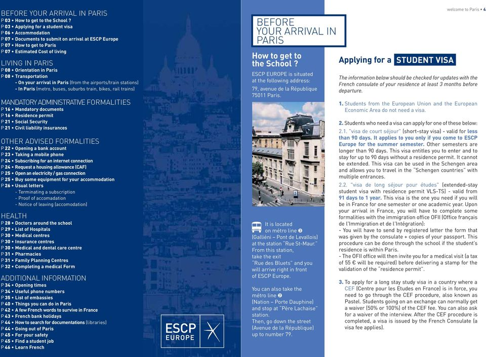 ESCP Europe Invites You To Paris