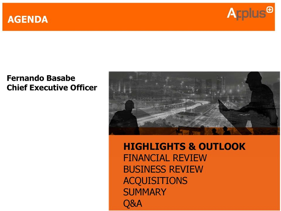 OUTLOOK FINANCIAL REVIEW
