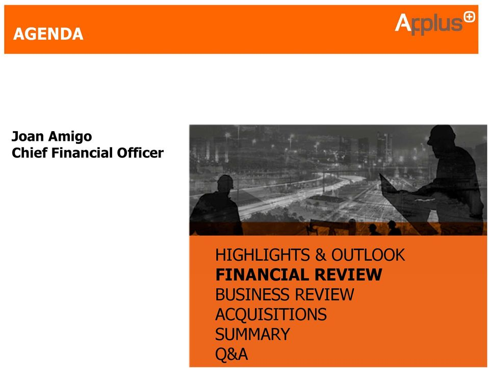& OUTLOOK FINANCIAL REVIEW