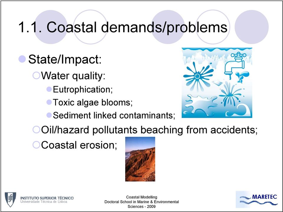 blooms; Sediment linked contaminants;
