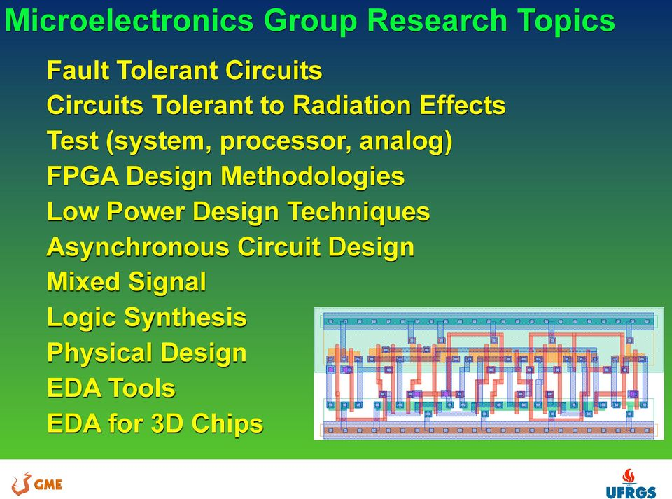 Design Methodologies Low Power Design Techniques Asynchronous Circuit