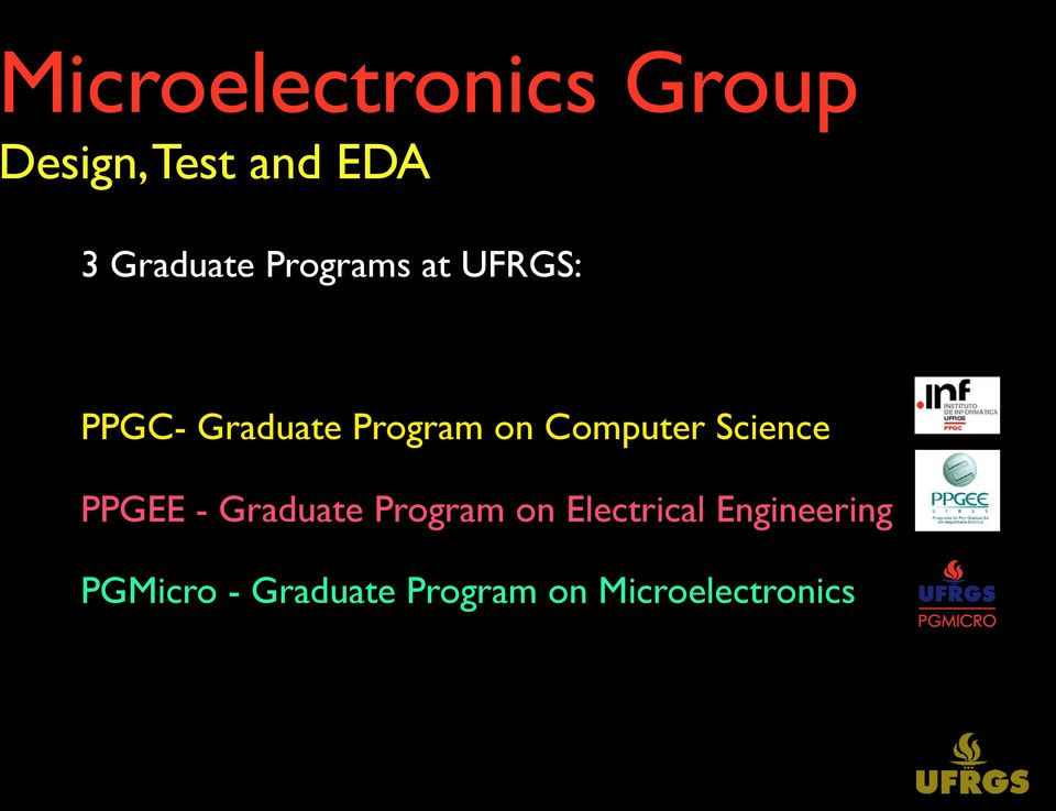 Computer Science PPGEE - Graduate Program on