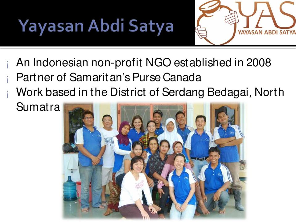 Samaritan s Purse Canada Work based