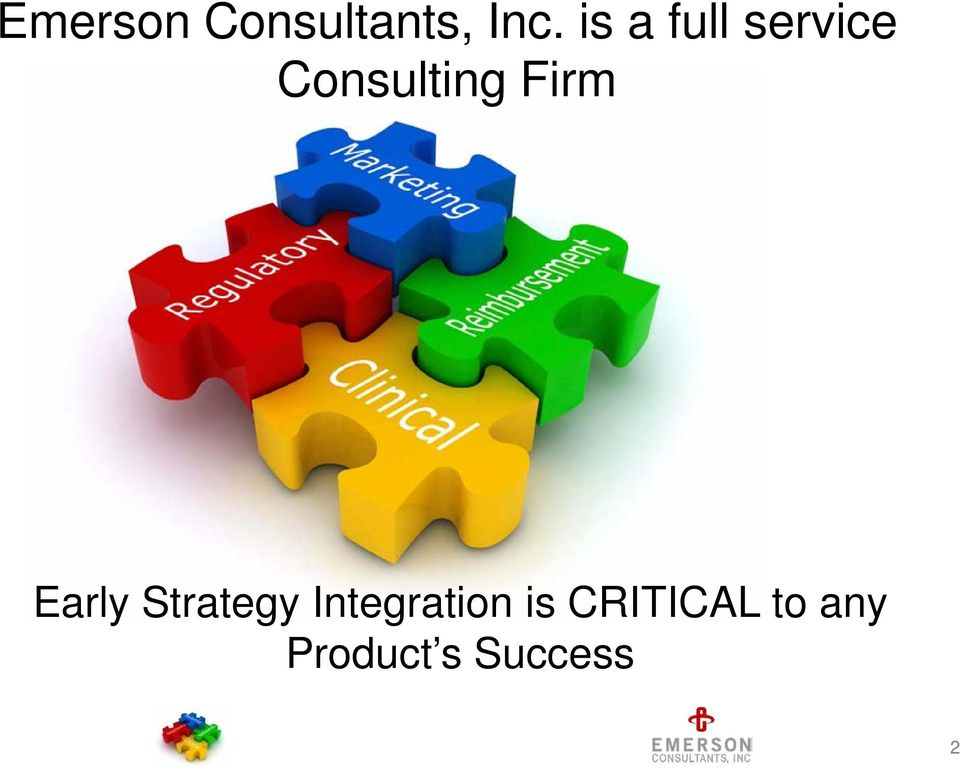 Firm Early Strategy Integration