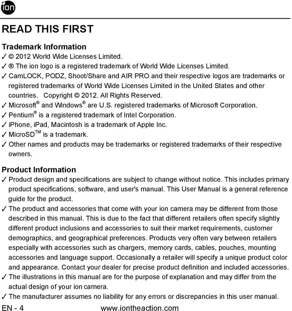 All Rights Reserved. Microsoft and Windows are U.S. registered trademarks of Microsoft Corporation. Pentium is a registered trademark of Intel Corporation.