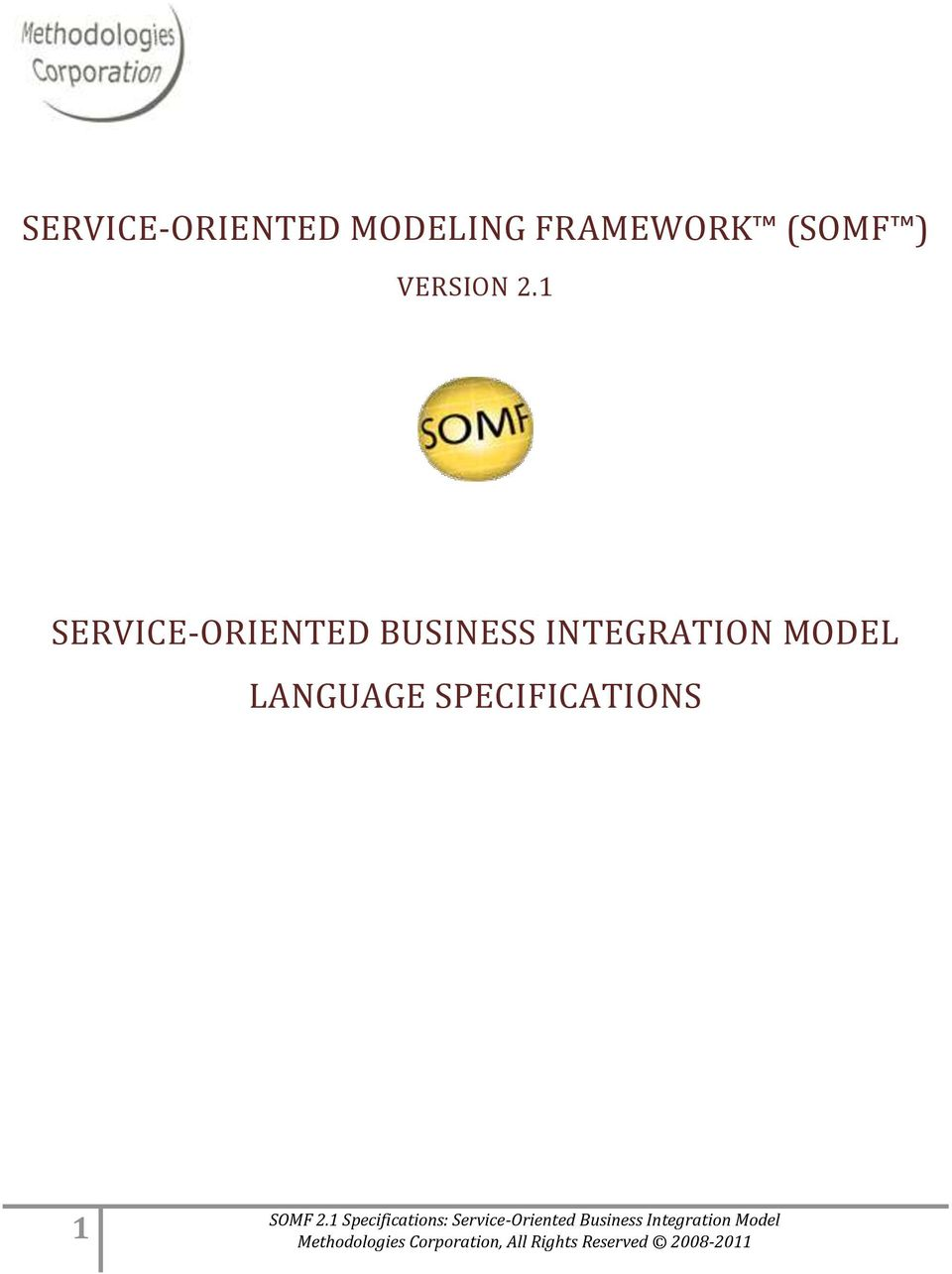 1 SERVICE-ORIENTED BUSINESS