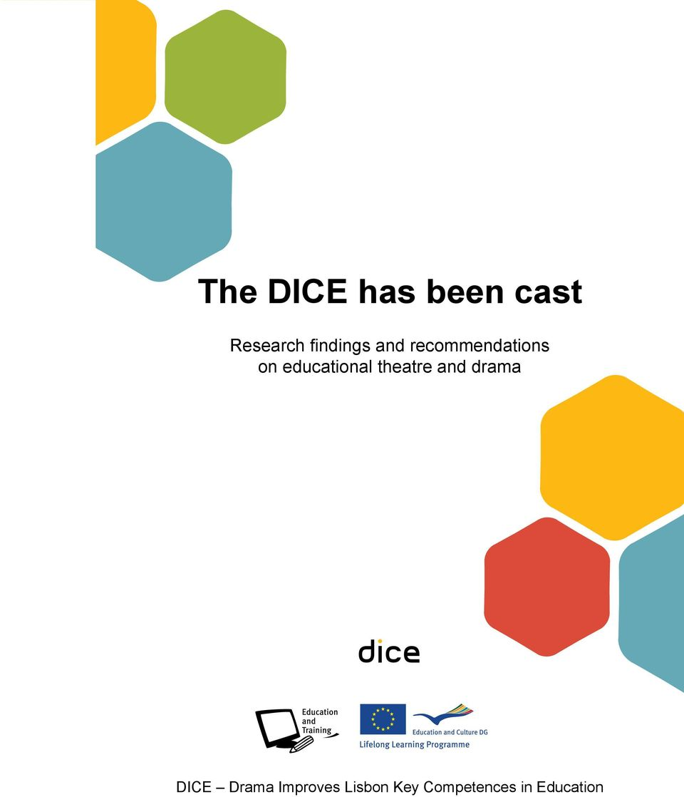 educational theatre and drama DICE