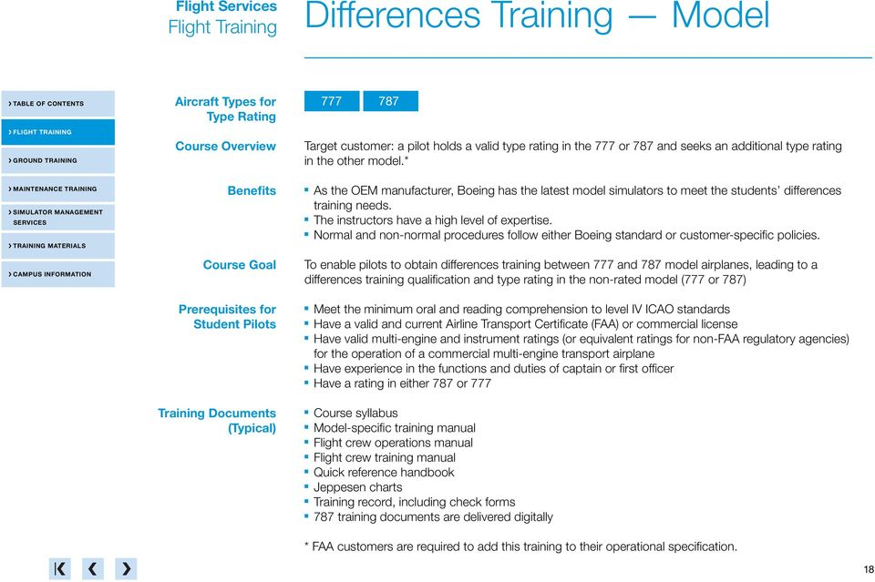 Normal and non-normal procedures follow either Boeing standard or customer-specific policies.