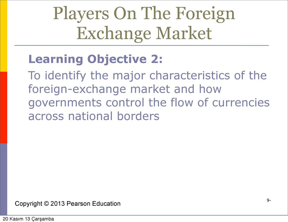 of the foreign-exchange market and how governments