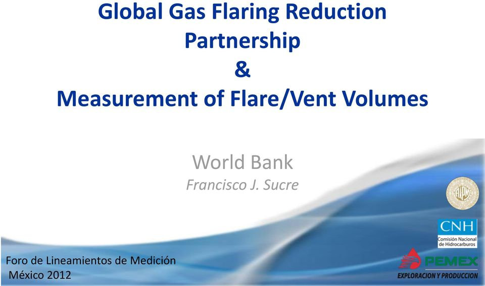 Measurement of Flare/Vent