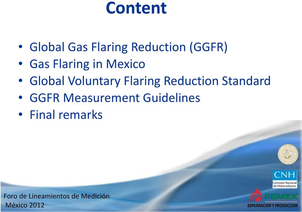 Voluntary Flaring Reduction Standard