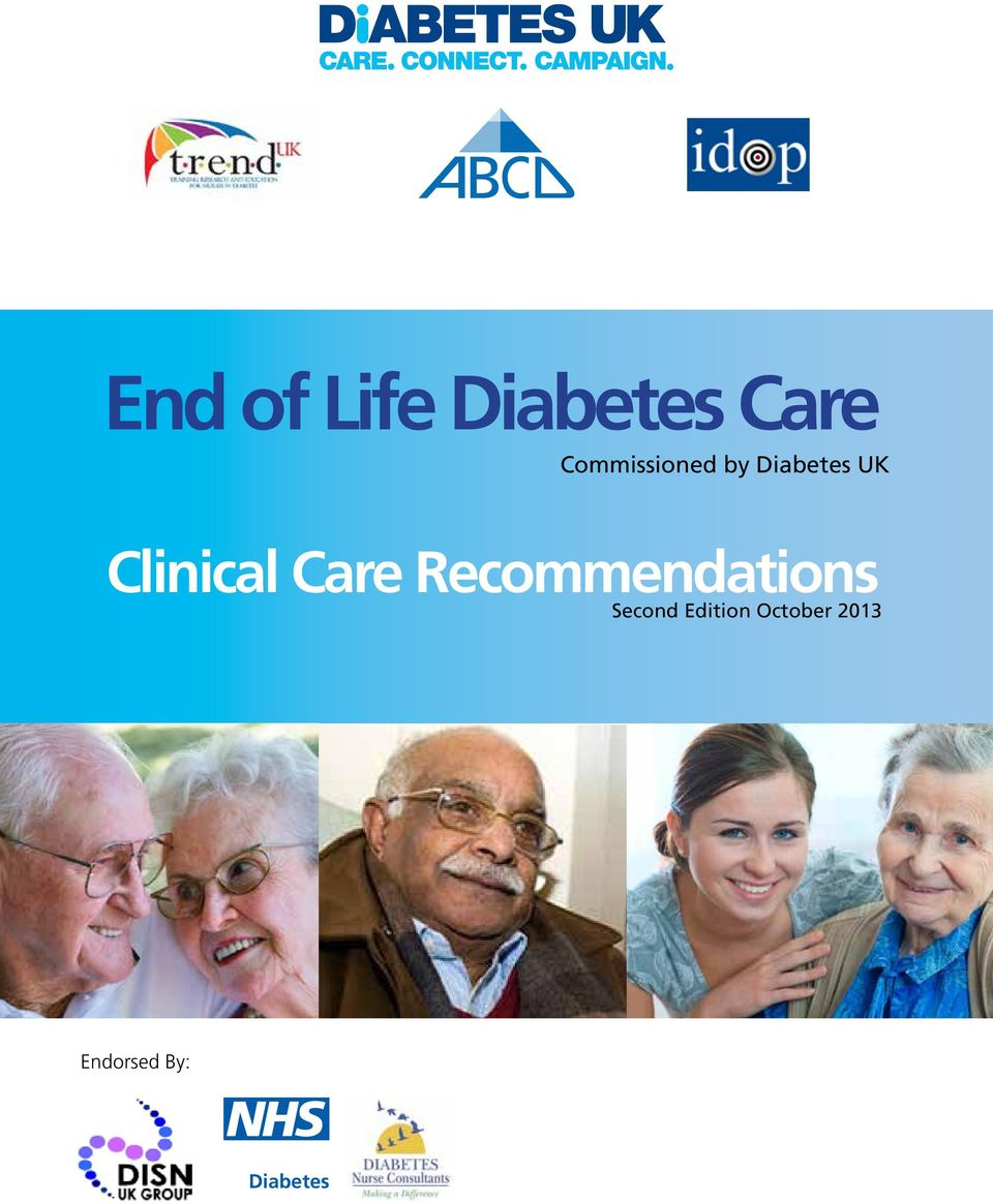 Clinical Care Recommendations