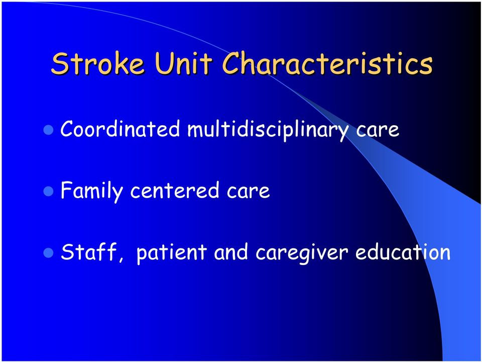 care Family centered care