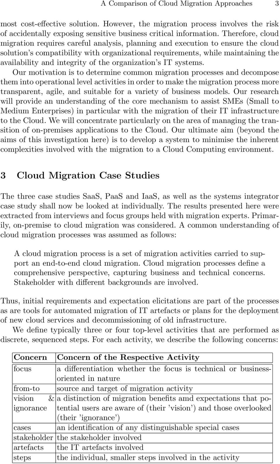 A Comparison of On-premise to Cloud Migration Approaches - PDF