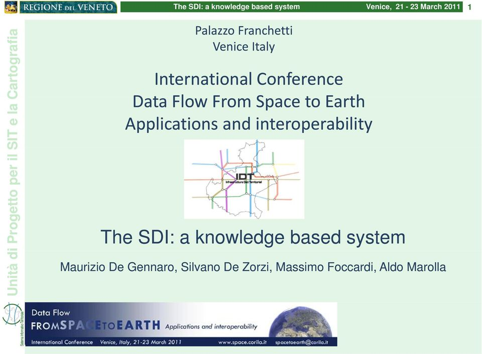 and interoperability The SDI: a knowledge based system
