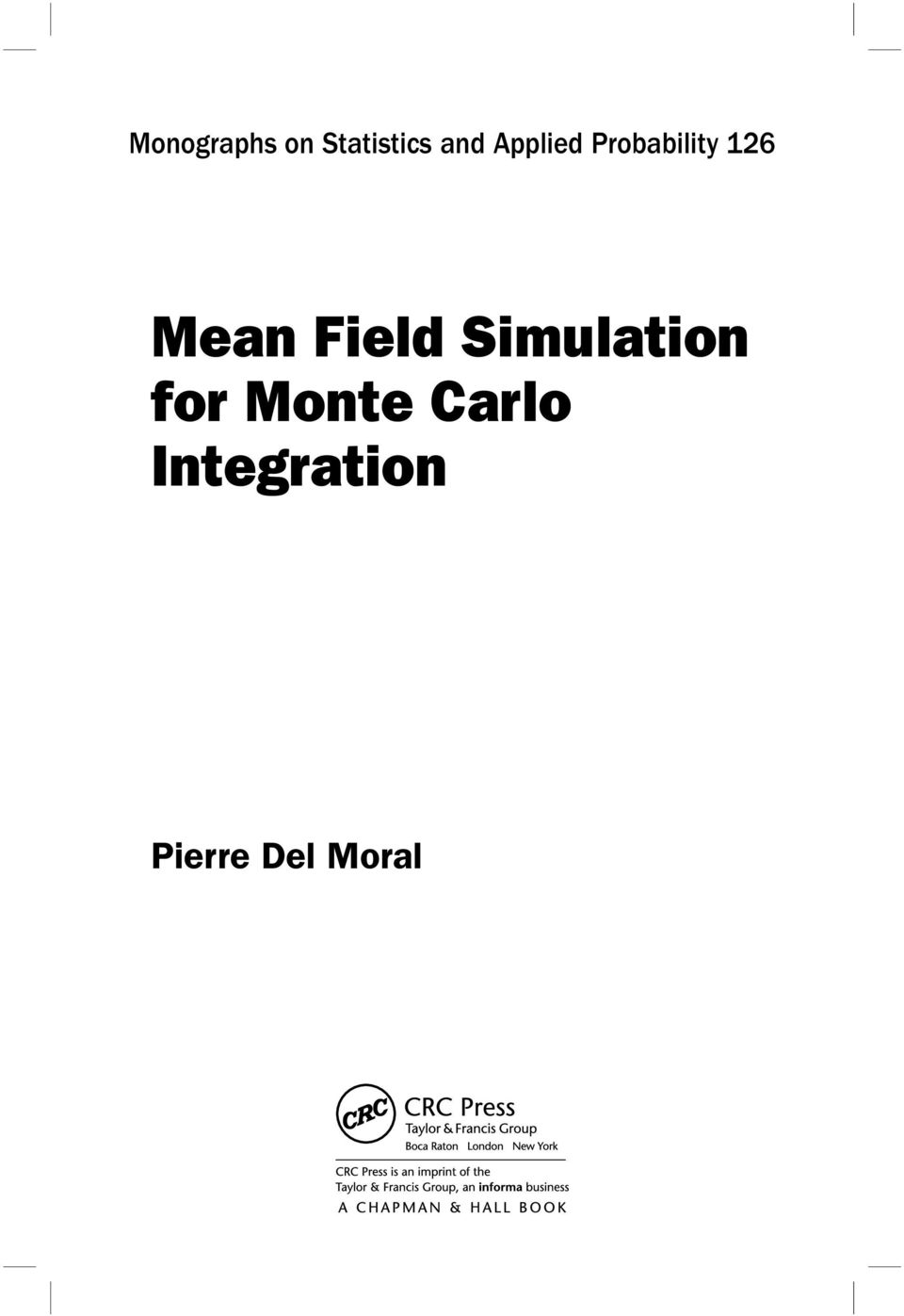 Field Simulation for Monte