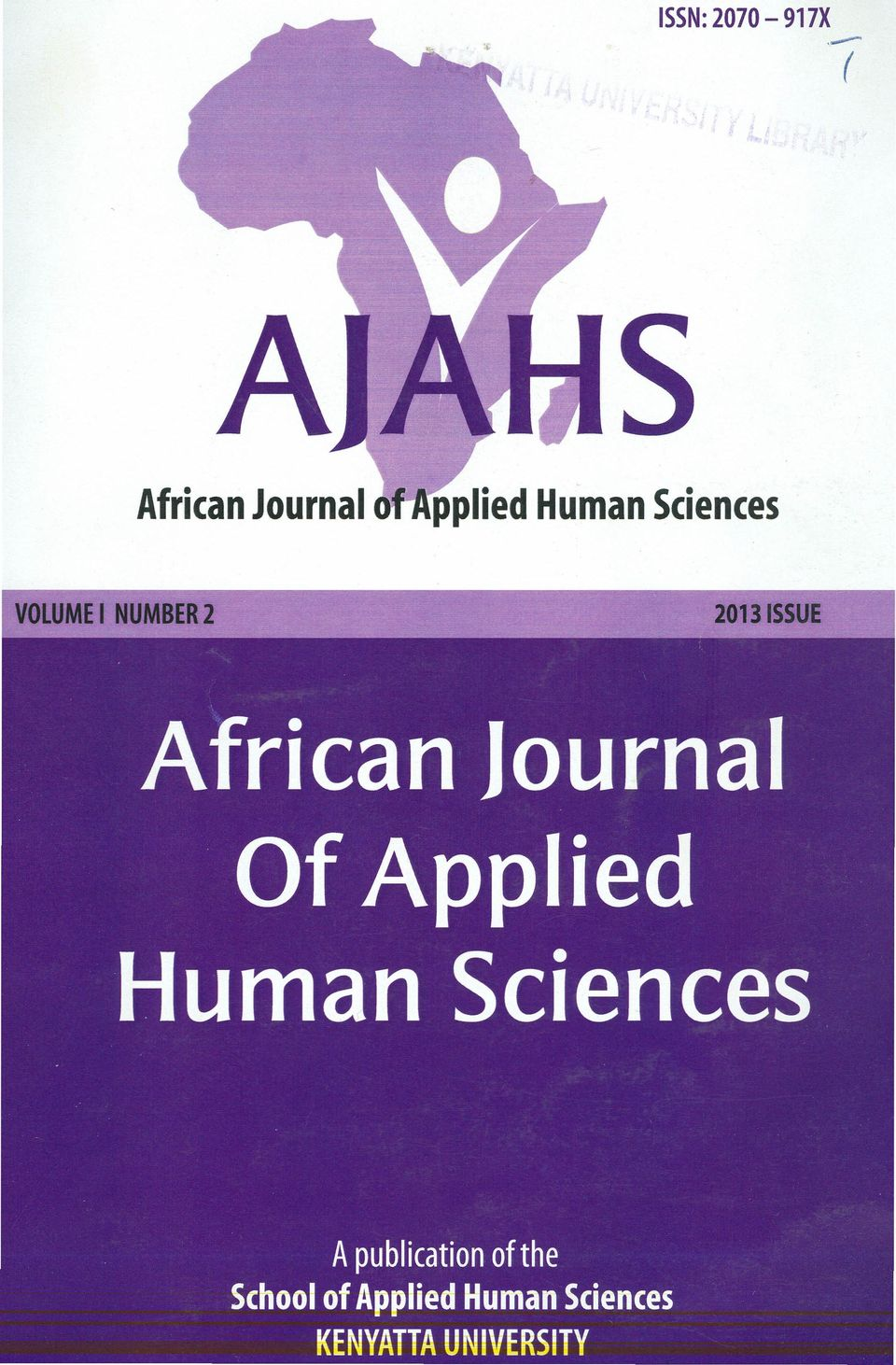 Journal Of Applied Human Sciences A publication of