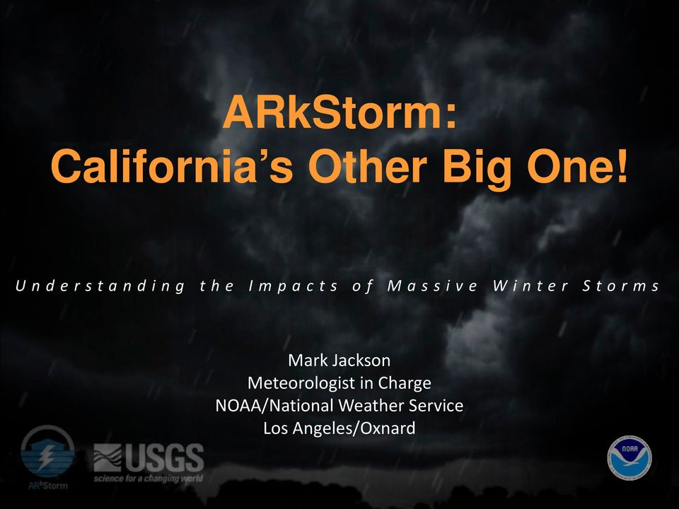 Storms Mark Jackson Meteorologist in Charge