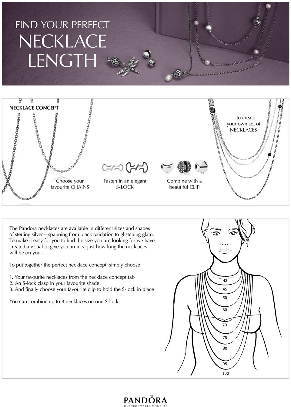 To make it easy for you to find the size you are looking for we have created a visual to give you an idea just how long the necklaces will be on you.
