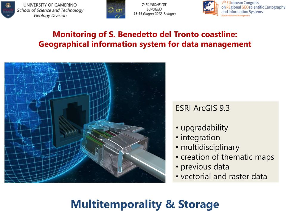 for data management ESRI ArcGIS 9.